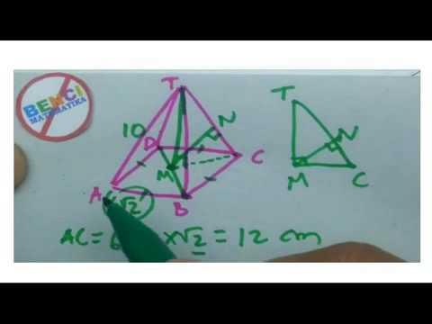Rumus Matematika Cepat - Limas Segi empat Beraturan Dimensi 3