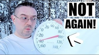 NOT AGAIN! | DAY IN THE LIFE IN NORTH POLE ALASKA  | Somers In Alaska