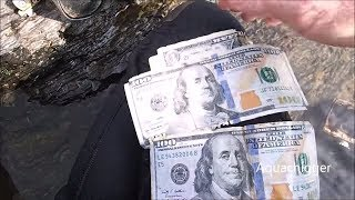 River Treasure: I Found $100 Bills, Apple iPhones, Vapes, Cameras, Fishing Tackle | Aquachigger