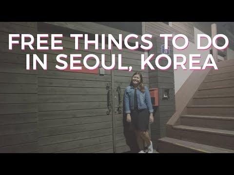 Seoul Korea Itinerary: Free things to do in Seoul (YG + Korea Tourism Office + Seoul Tower)