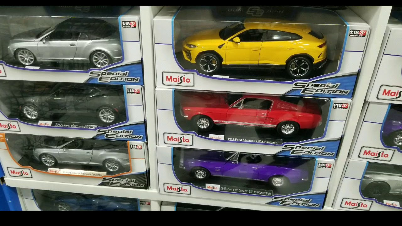 Costco Maisto 1 18 Special Edition Cast Cars 14