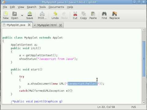 java-applet-tutorial-#8-calling-javascript