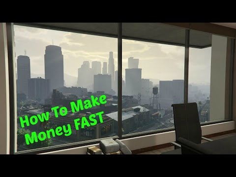 gta v how to make money fast