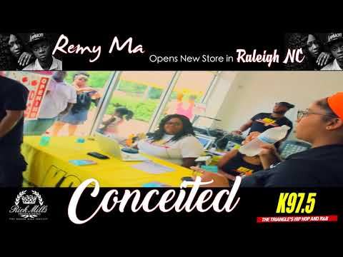 Remy Ma Opens New Store In Raleigh NC
