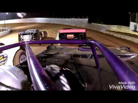 Quick Rough edit of Sean Guffey at Cleveland TN Speedway heat race.