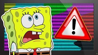 Continuity Errors in Spongebob Squarepants