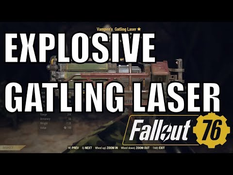 Download Fallout 76 Explosive Laser Rifle Power MP3, MKV