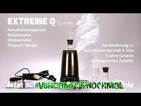 EXTREME Q Vaporizer von Arizer | Unboxing