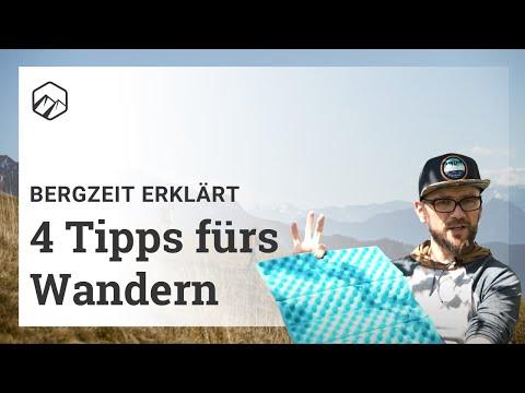 Video: 4 Tipps für's Wandern: Das musst du wissen! | Bergzeit