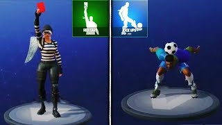 NEW LEAKED EMOTES GAMEPLAY in Fortnite! Pop Lock, Rawr, Red Card, Waterworks, & Kick Ups Emotes!