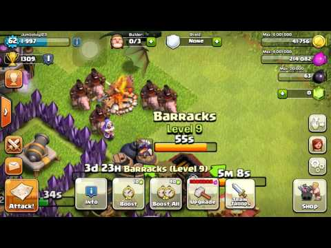 Clash Of Clans: Upgrading Barbarian King To Level 2