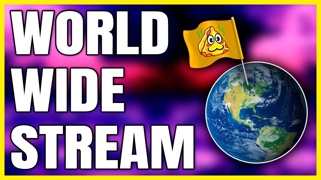 Cheese's stream is WORLDWIDE