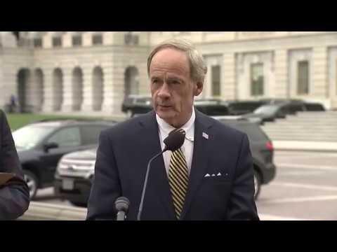 Senator Tom Carper raises alarm on climate denier Kathleen Hartnett White