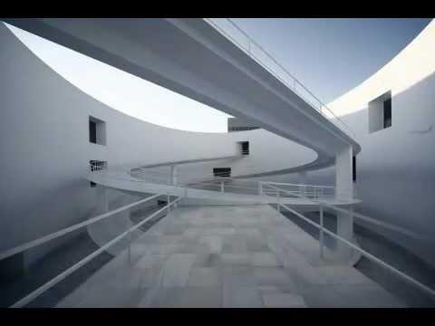 alberto campo baeza museo de la memoria de andaluc a a granada youtube. Black Bedroom Furniture Sets. Home Design Ideas