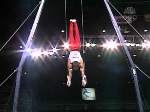 Paul Hamm - Still Rings - 2003 U.S Gymnastics Championships - Men - Day 2
