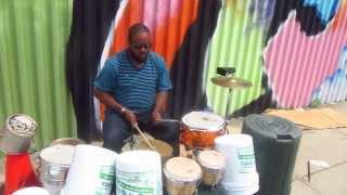 Bucket Drummer Bucket Drumming Street Drummer Street Drumming
