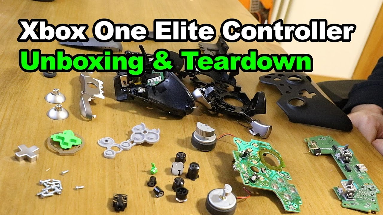 xbox one elite controller assembly