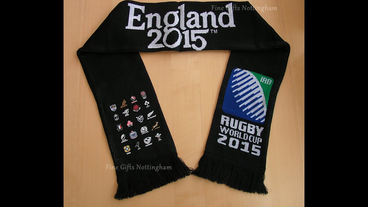 England Rugby RWC World Cup England 2015 Scarf