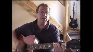 Oh Carol - Guitar Lesson - Acoustic Cover - Neil Sedaka - (Cover by Peter Winnett)