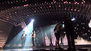 ESCKAZ in Vienna: Elina Born & Stig Rästa (Estonia) - Goodbye To Yesterday (dress rehearsal)