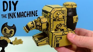 INK MAKING MACHINE from Bendy and the Ink Machine - Plasticine Tutorial