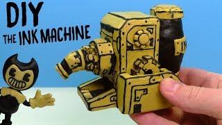 ЛЕПИМ ЧЕРНИЛЬНУЮ МАШИНУ из Bendy and the Ink Machine | Видео Лепка