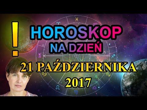 21.10.2017 - HOROSKOP CODZIENNY - 21 października 2017