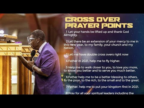 Download PASTOR'S E.A ADEBOYE MESSAGE FOR THE DOUBLE CROSS OVER