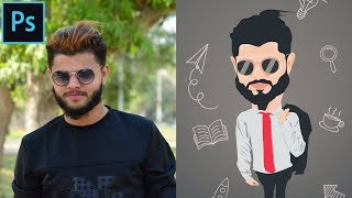 Karikatur (Cartoon) - Effekt | Photoshop Cc Tutorial | 2018