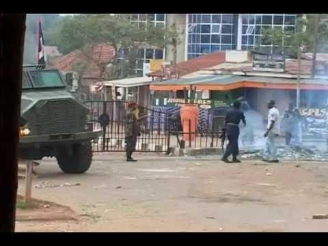 Ugandan Army takes Over Kampala City