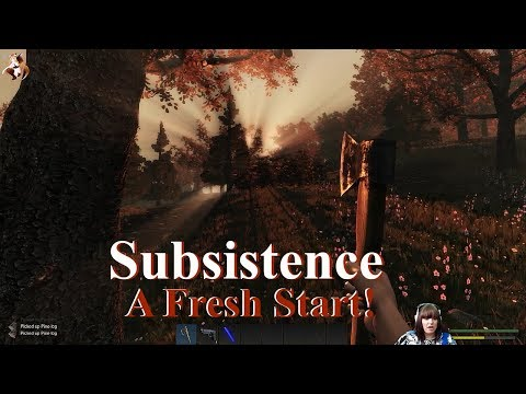 Let's Play Subsistence | S-2 EP1 | A Fresh Start!