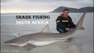 EXTREME SHARK FISHING FROM THE BEACH SOUTH AFRICA