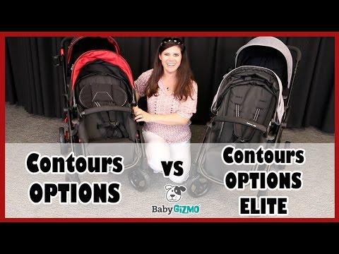 Contours Options Vs Contours Options Elite Double Stroller Comparison