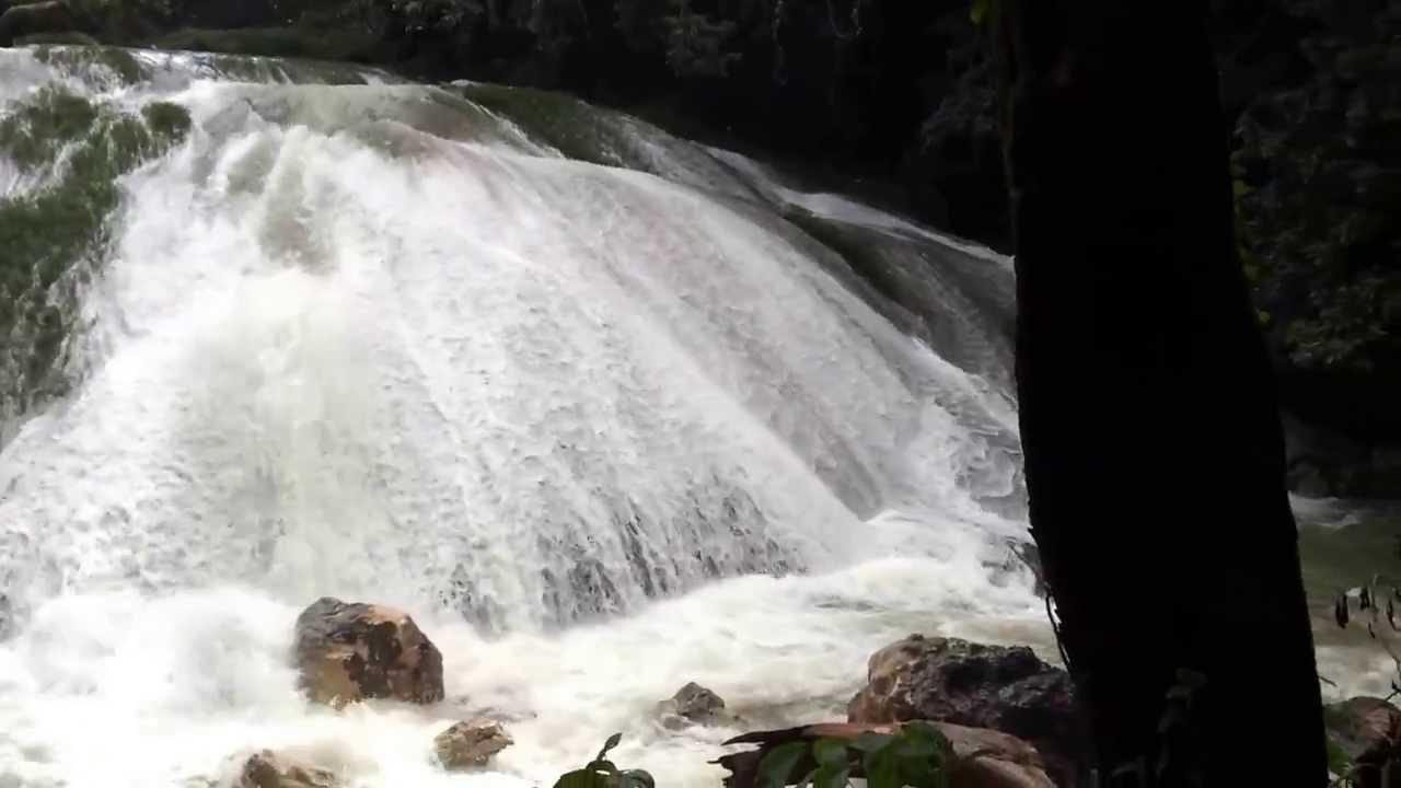 Cascadas De Agua Blanca Youtube