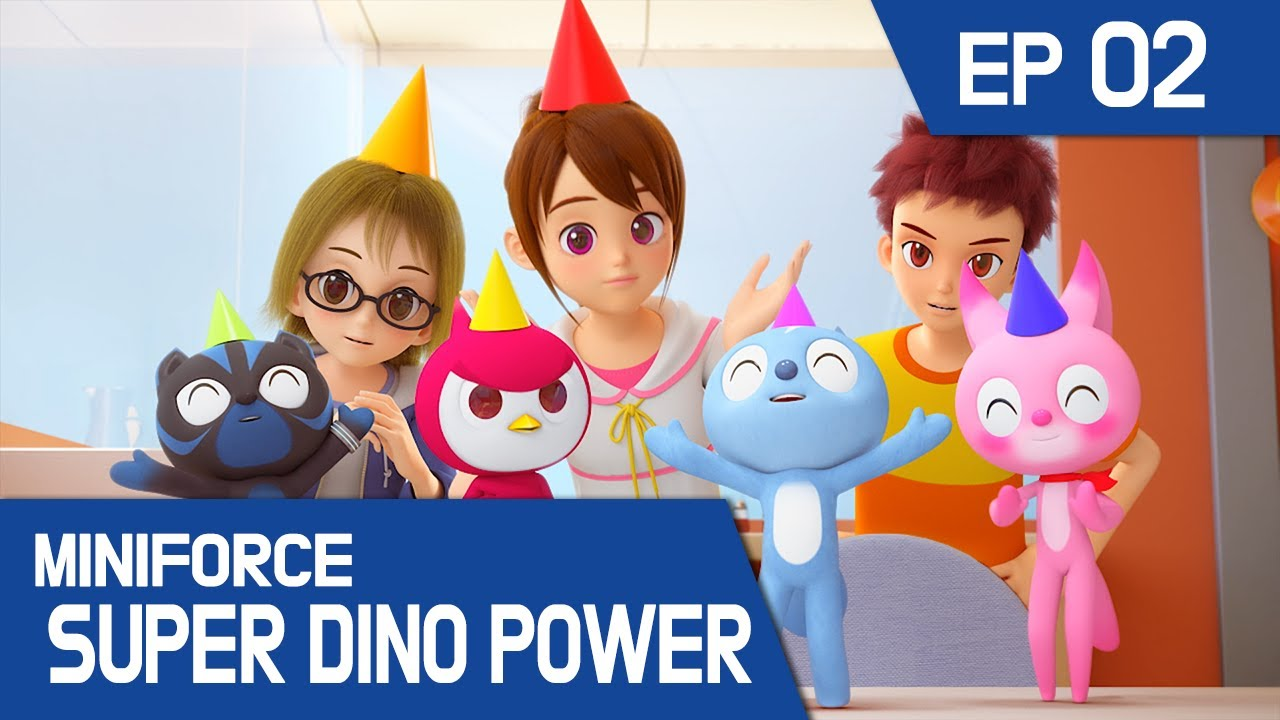 [MINIFORCE Super Dino Power] Ep.02: Max's Very Special Birthday Party