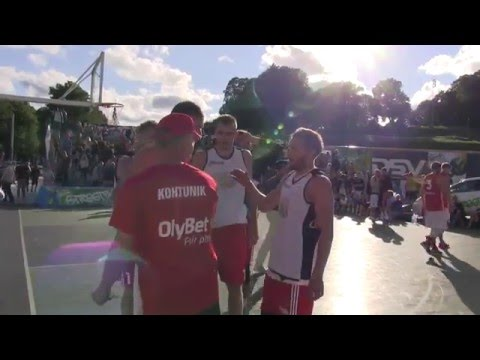 OlyBet 3x3 Tallinn Open 2015 final game