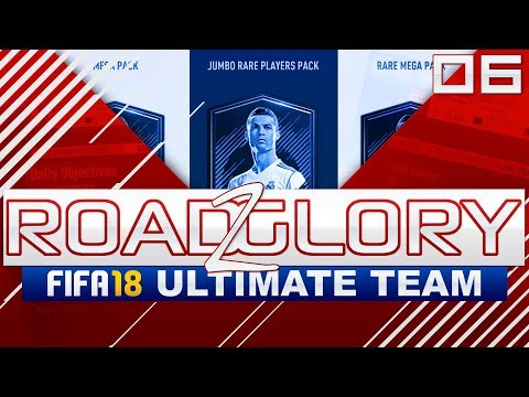ROAD TO GLORY - 06 - 100k PACK DAILY OBJECTIVE REWARD!! // FIFA 18 ULTIMATE TEAM