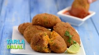 Vegetable Cutlets By Tarla Dalal