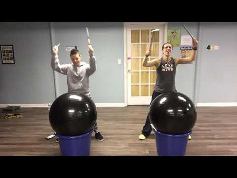 Cardio Drumming @3H Fitness to Malibu -Miley