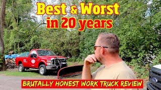 The Best & Worst Pickup trucks we've owned in 20 years