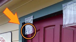 If You See Bag Of Pennies Hanging Over Someone's Door Here Is What It Means