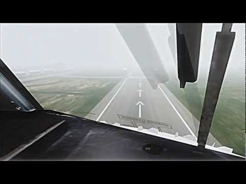 [HD] FSX AS REAL AS IT GETS 2013 - Qantas Cockpit Landing Canberra
