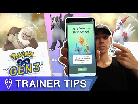 Download Youtube: GEN 3 IS HERE! NEW POKÉMON ARE APPEARING IN POKÉMON GO!