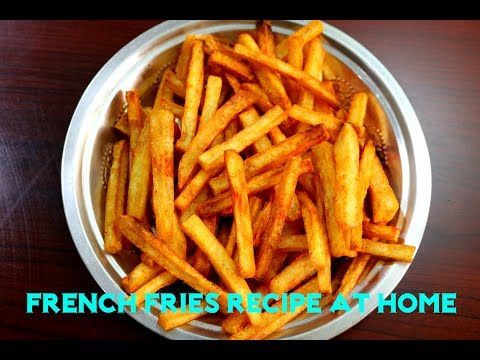 Perfect Crispy French Fries..!!||Homemade Perfect French Fries Recipe.|||Finger Chips Recipe