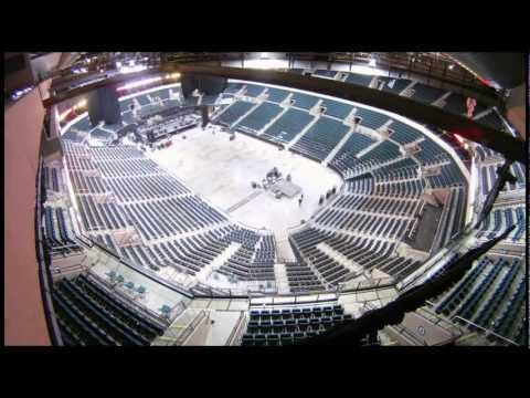 Time-lapse: MTS Centre, Winnipeg change over from concert to large event