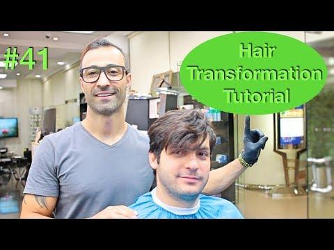 NEW Haircut & Hairstyle Transformation (Hair Tutorial) Best Barber in the world 2018 U.S.A / Dubai