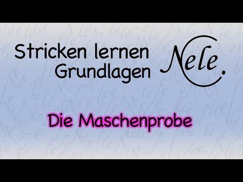 Stricken lernen – Maschenprobe anfertigen und berechnen lernen, DIY Anleitung by NeleC.