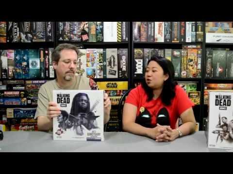 Unboxing of The Walking Dead No Sanctuary by Cryptozoic