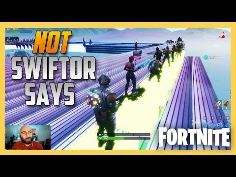 Not Swiftor Says ... Potato Says in Fortnite Creative! thumbnail