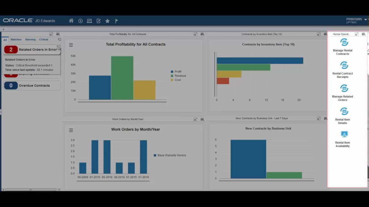 Announcing JD Edwards UX One